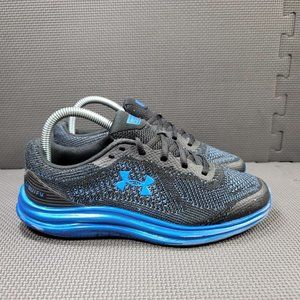 Youth Sz 6 Blue Under Armour Liquify Running Shoes